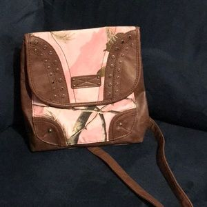 RealTree Convertible Backpack to Crossbody Purse